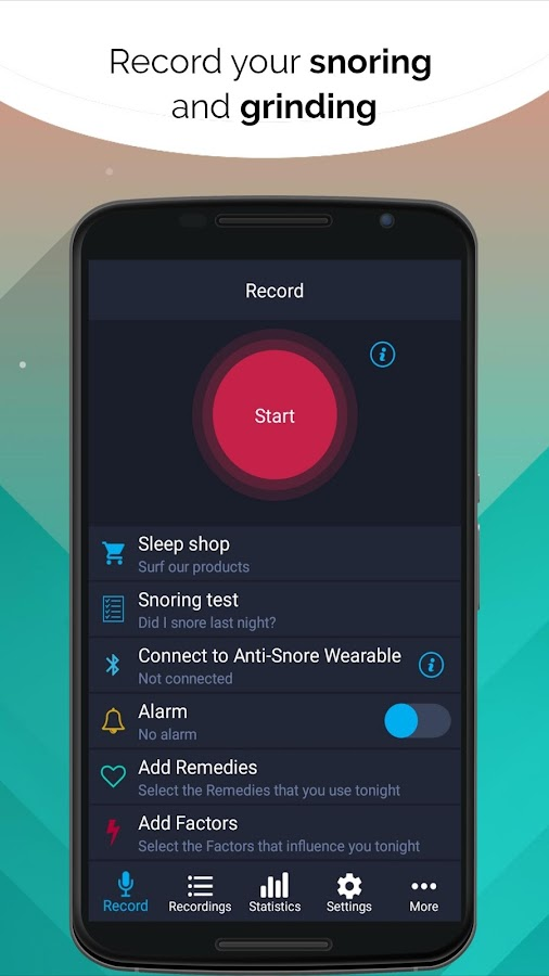 Do I Snore or Grind 1 0 9 APK Download - Android Medical Apps