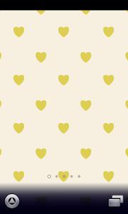 yellow hearts Wallpaper 1.0 screenshot 1