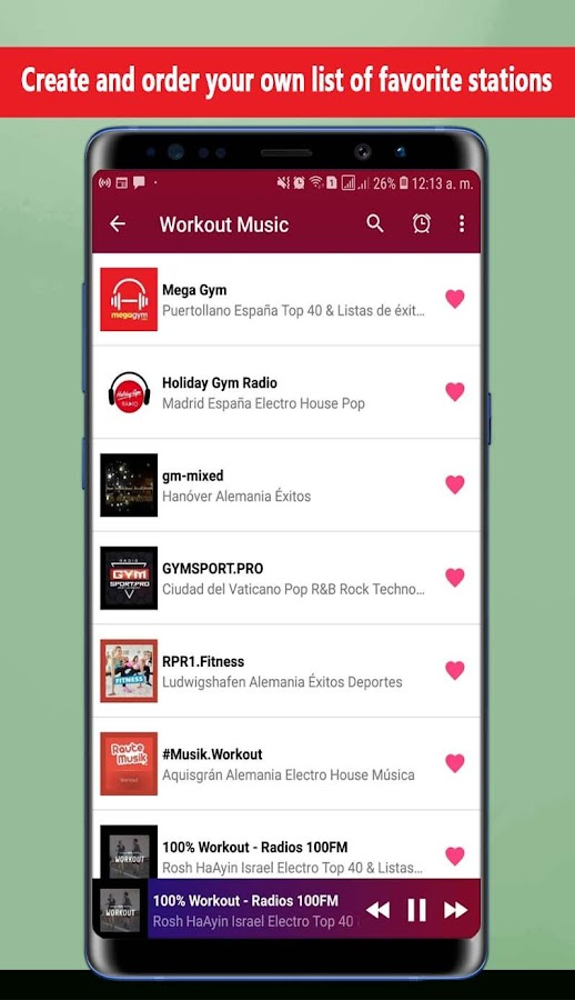 Workout Music 1 0 2 APK Download - Android Music & Audio Apps
