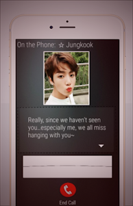 BTS Messenger New 1.1 screenshot 2