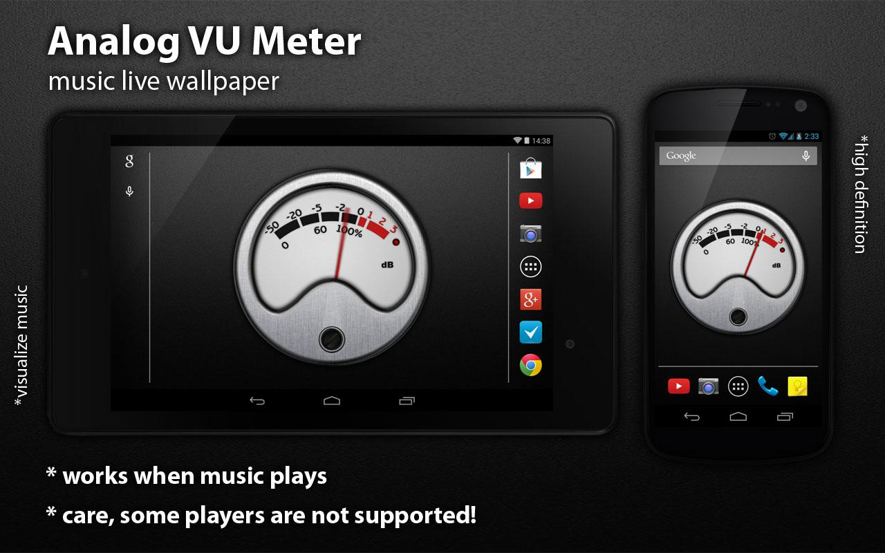 VU Meter Live Wallpaper Free 1.1.1 APK Download - Android ... on scotland screensavers and wallpaper, audio wave wallpaper, butterfly screensavers and wallpaper,