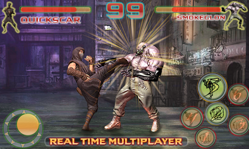 Shadow Ninja Kung Fu Fight 3D 1 screenshot 1