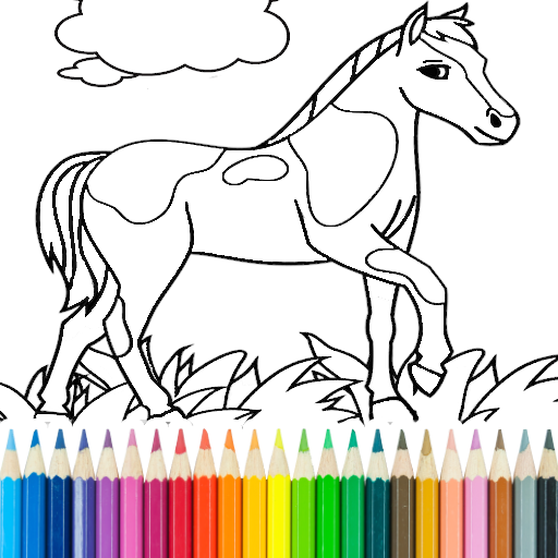 Horse Colers Tags — Super Dad Coloring Pages For Kids 12 Best ... | 512x512