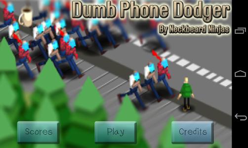 Dumb Phone Dodger 8 screenshot 1