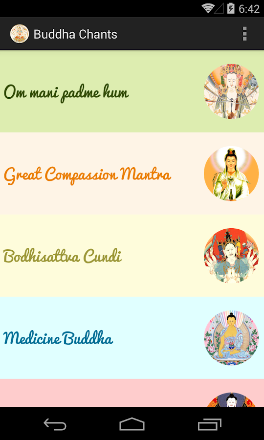 Meditation Chants