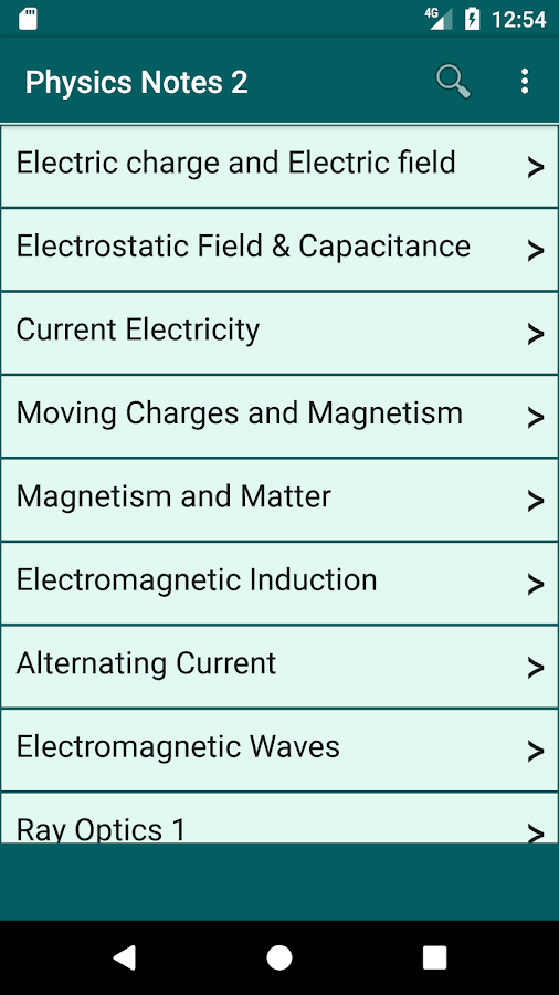 Physics Notes 2 3 4 APK Download - Android Education Apps