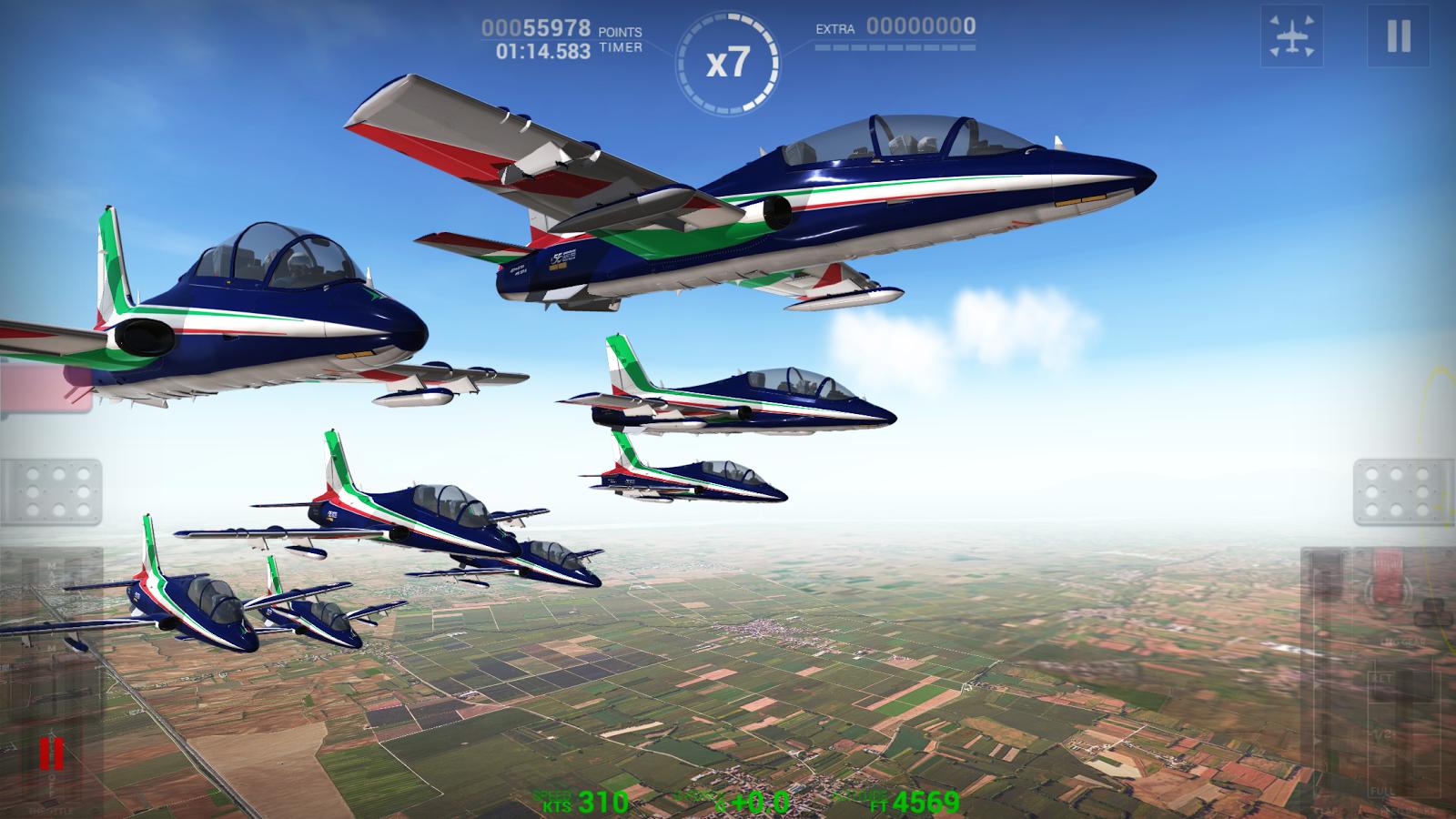 Frecce Tricolori Flight Sim 1 1 APK + OBB (Data File