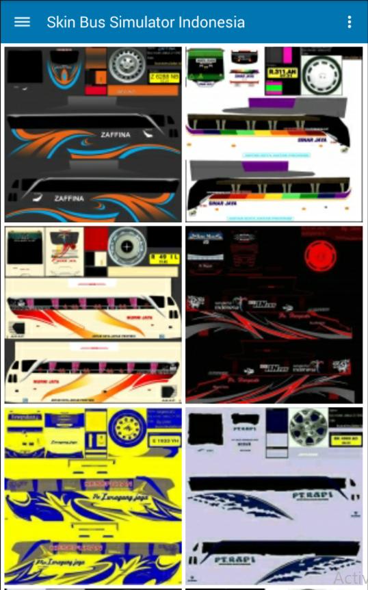 New Skin Bus Simulator Indonesia ( Bussid ) 1 1 0 APK