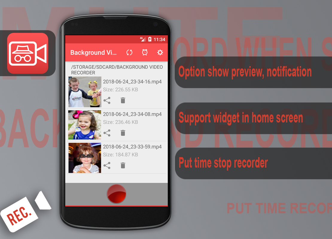 Download Background Video Recorder 1 0 1 Apk Android Tools Apps