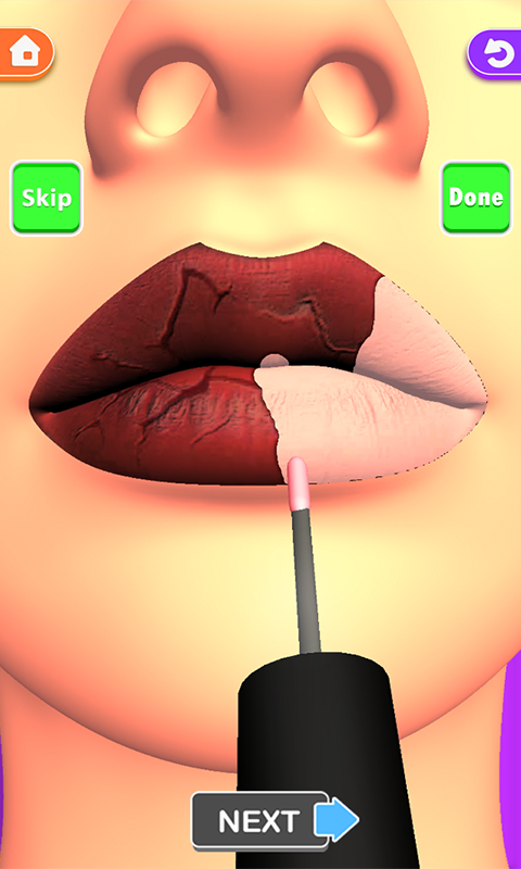 Download Lips Done Satisfying 3d Lip Art Asmr Game 1 0 5 Apk Android Casual Games