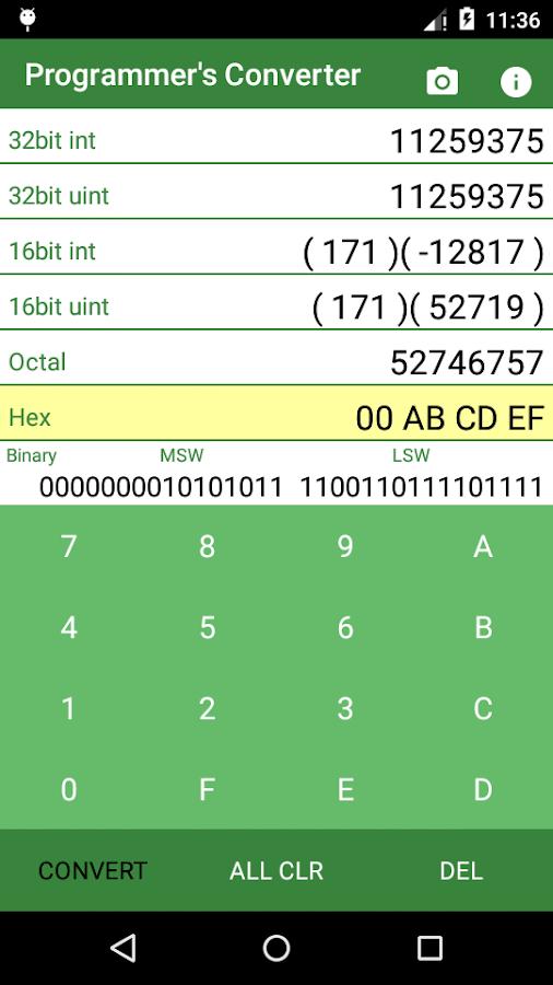 Hex to Decimal Converter 1 1 APK Download - Android