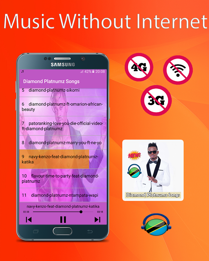 Diamond Platnumz Songs 2019 -Without Internet 1 0 APK