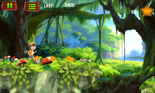 Amazing Jungle run 3.0 screenshot 5