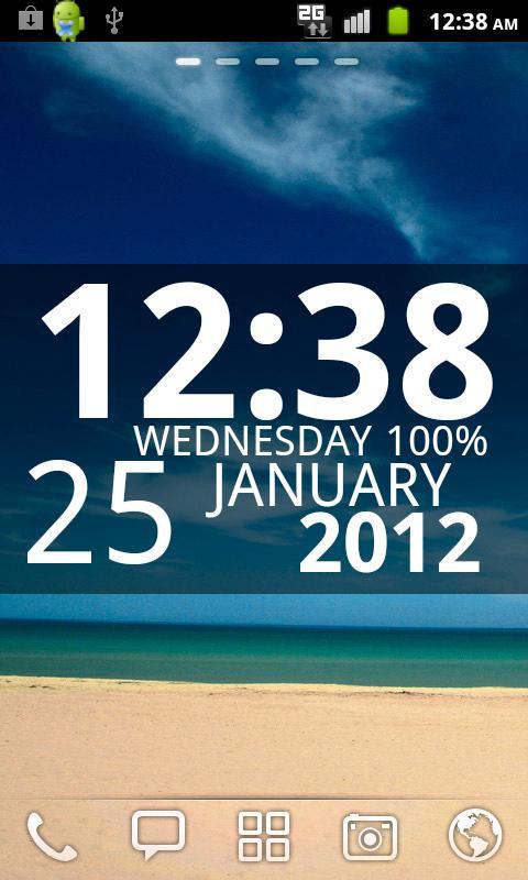 Digi Clock Widget 1 0 4 APK Download - Android