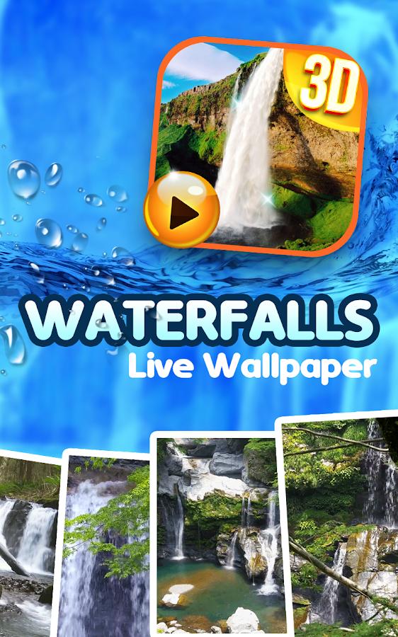 Waterfall Sound Live Wallpaper 4.2 screenshot 1 ...