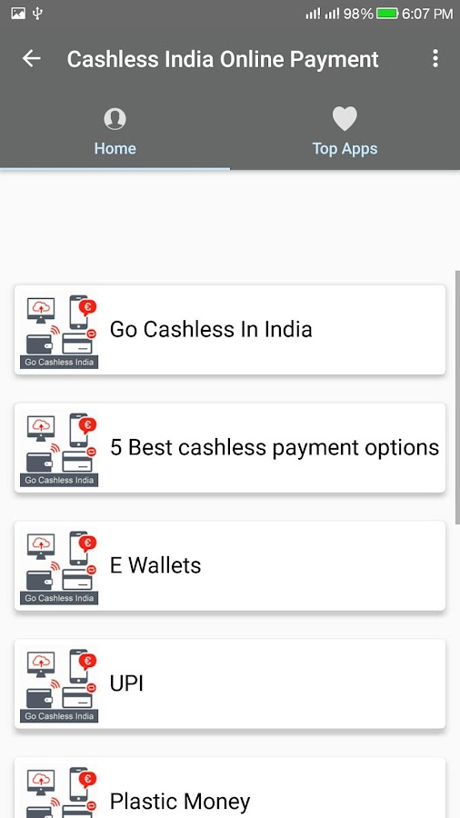 Cashless India/Online Payment 1 0 APK Download - Android