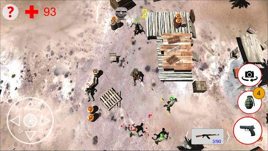 Shooting Zombies Free Game 1.0 screenshot 15