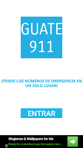 GUATE 911: Números de emergencia de Guatemala 4.0.0 screenshot 1