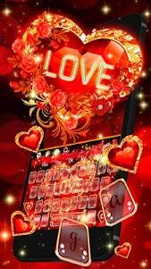Love Heart Keyboard 10001004 screenshot 1