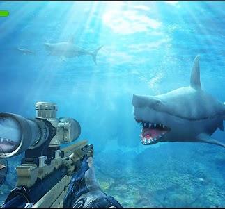 Underwater Whale Shark Sniper Hunter 3D 2018 1.0 screenshot 8