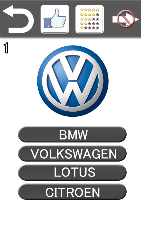 Car Brands Starting With A >> Guess The Car Brand Logo Quiz 1 2 Apk Download Android