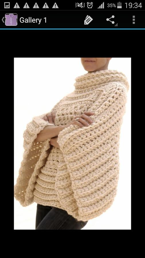 1e9a398cdc12b8 Crochet Sweater Patterns 3.0 screenshot 1 Crochet Sweater Patterns 3.0 screenshot  2