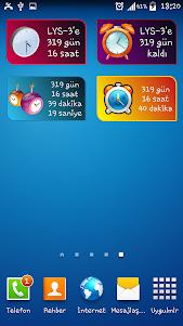 LYS3 Geri Sayım Kuruluş screenshot 2