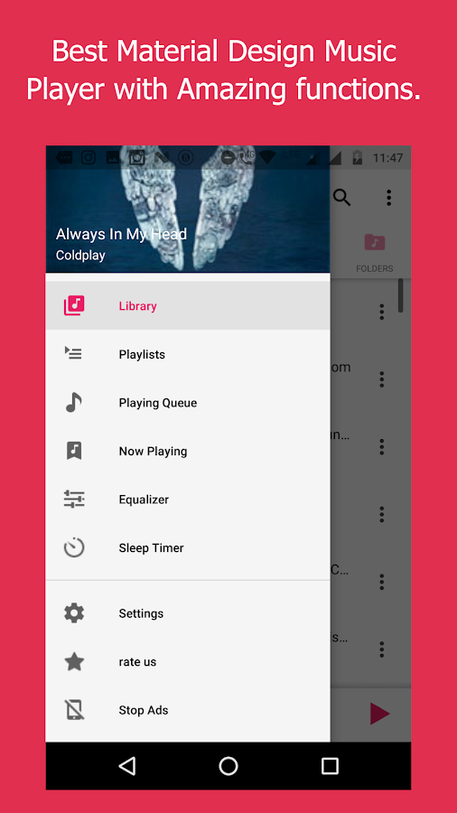 Music Player - Mp3 player, audio player 4 0 9 APK Download - Android