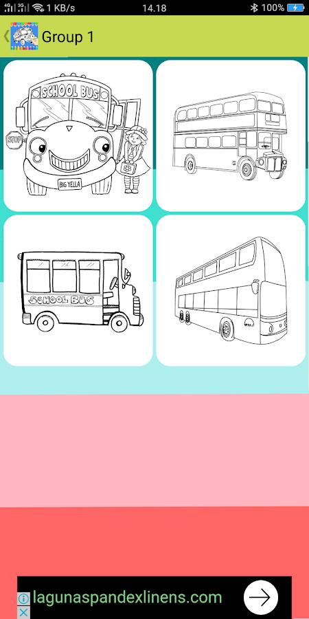 Mewarnai Bis Tayo 10 Apk Download Android Education Apps