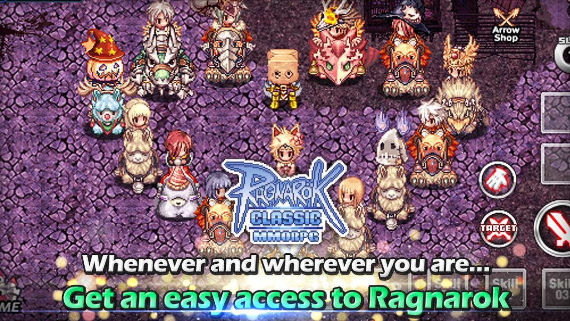 Ragnarok Classic MMORPG 6 5 0 APK Download - Android Role Playing Games
