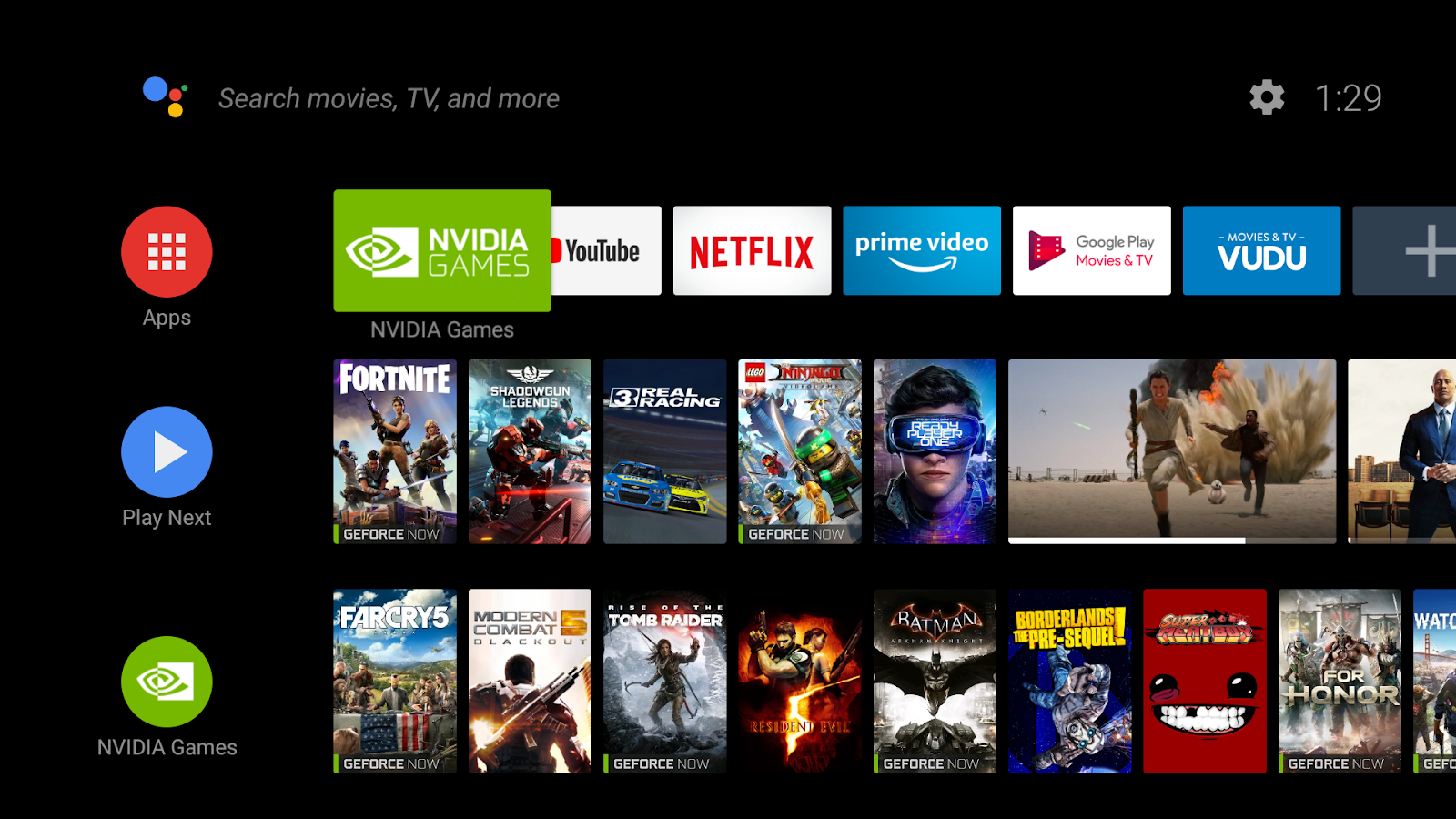 apk games for android tv