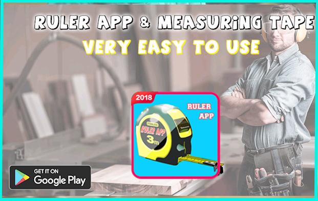 Measuring tape app & Ruler app inches centimeters 7 05 APK