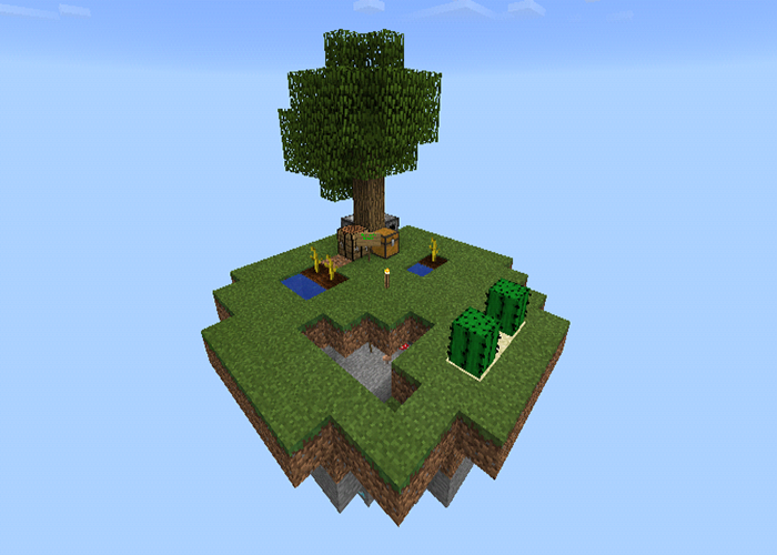 SkyBlock Island maps for MCPE 2 3 2 APK Download - Android