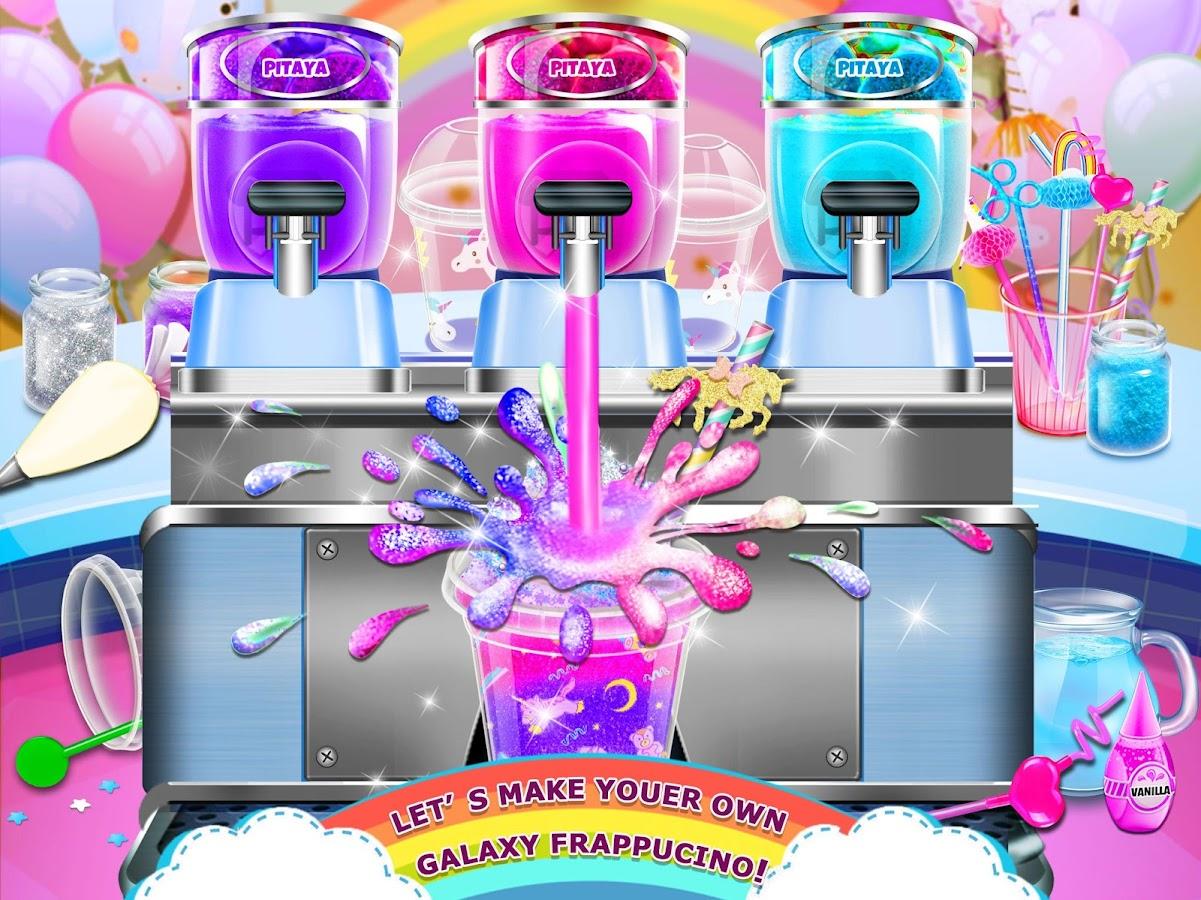Rainbow Ice Cream Unicorn Party Food Maker 11 Apk Download Mainan Anak Frozen Pembuat Screenshot 6