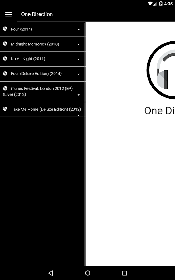 One Direction Lyrics 1 2 APK Download - Android