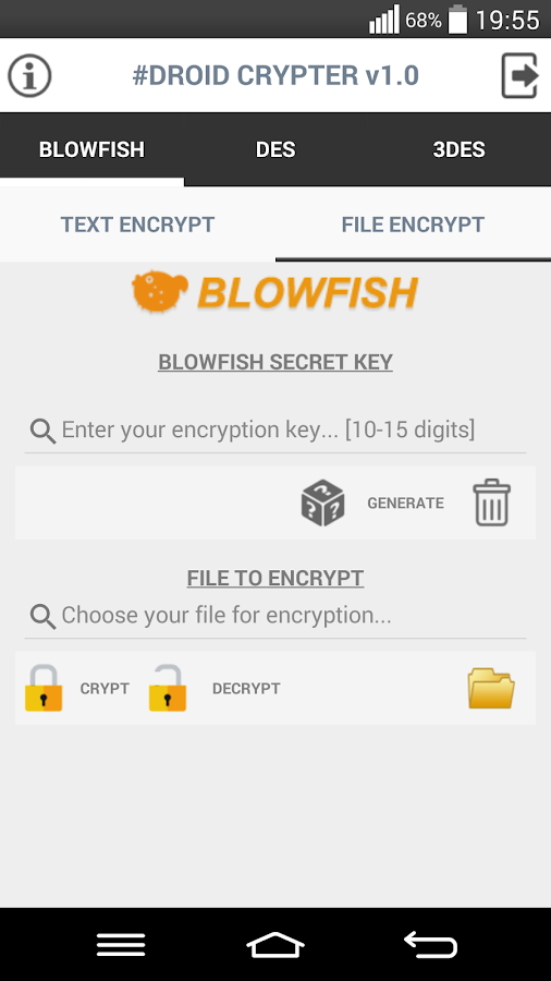 Droid Crypter 1 0 0 APK Download - Android Tools Apps