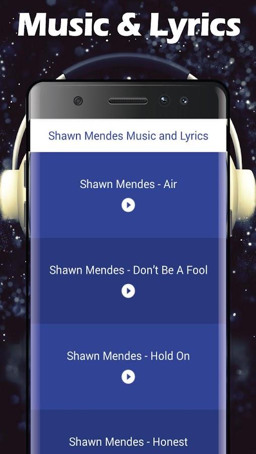 Shawn Mendes Songs Lyrics