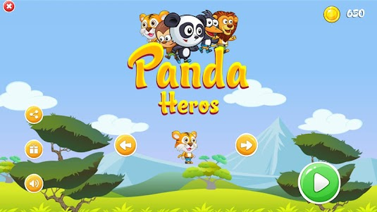 Furious Panda Hero's  screenshot 1
