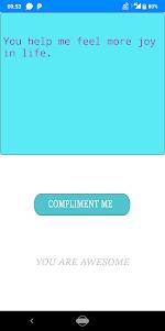 com.sapphire.complimentyourself 1.1 screenshot 1