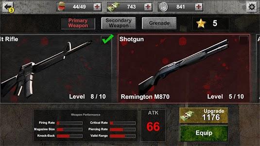 The Zombie: Gundead 1.4.5 screenshot 5