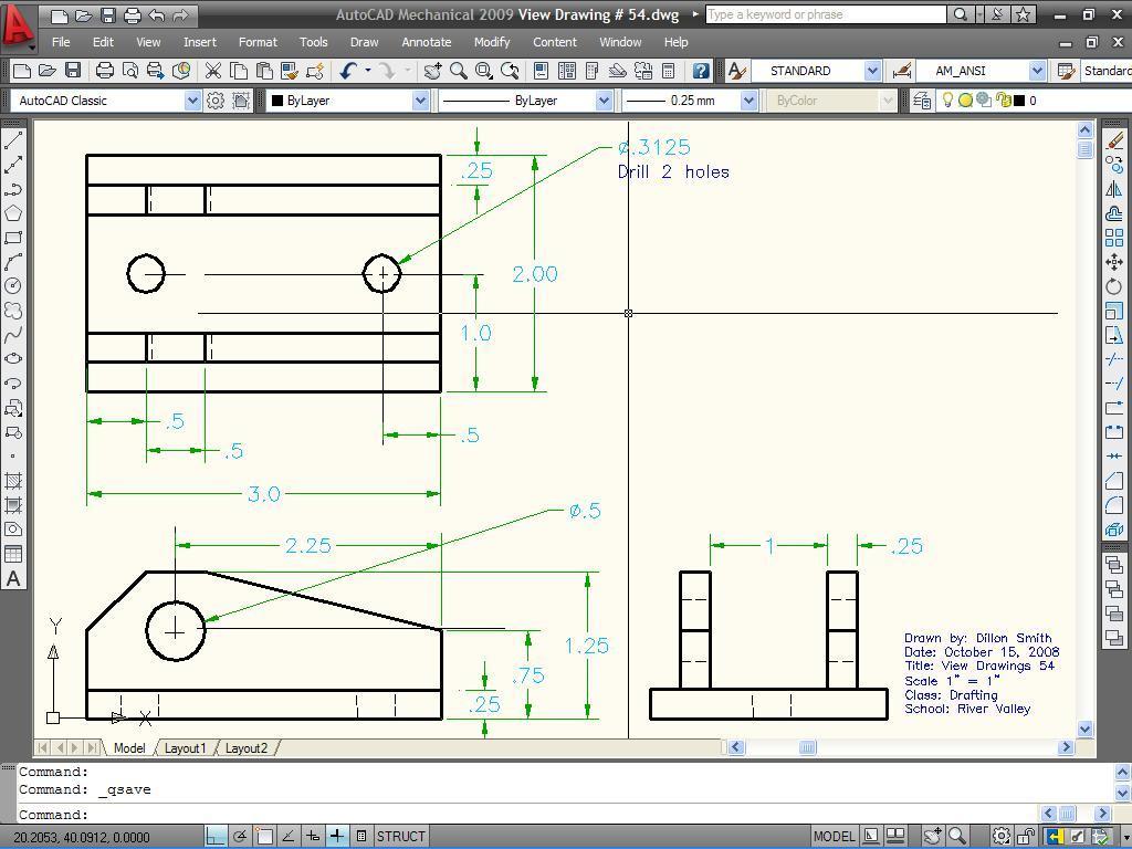 ... Learn AutoCAD 2009 Manual 1.1 screenshot 3 ...