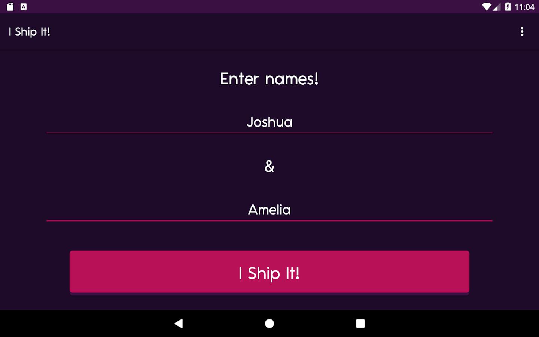 i ship it fandom couple name generator love game 2 6 apk download