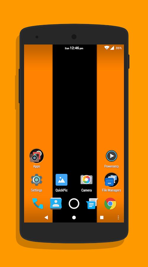 Strange Orange CM13/12 1 Theme 4 0 APK Download - Android