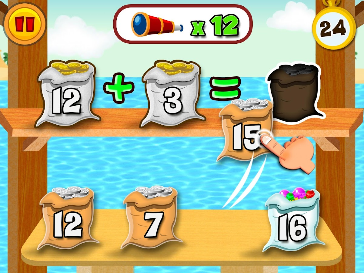 MathLand Full Version: Mental Math Games for kids 1.61 APK Download ...