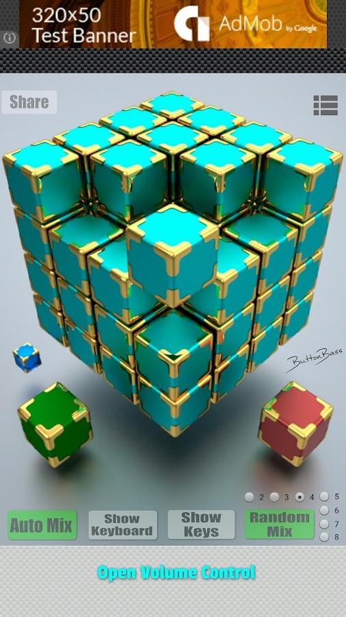 download buttonbass edm cube 2 apk