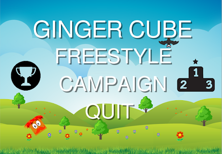 Ginger Cube Game - The edgiest game on the market! 1.33 screenshot 1