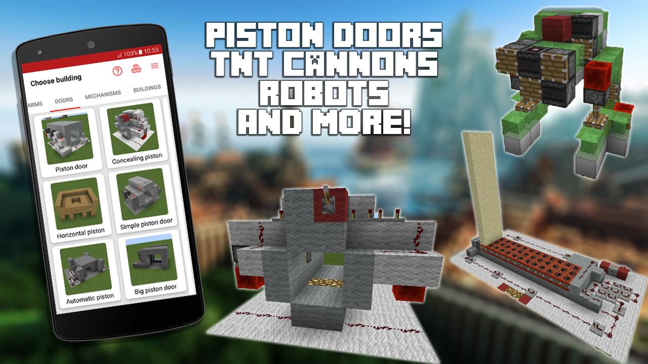 Redstone Builder For Minecraft Pe 101 Apk Download Android Circuits Screenshot 8