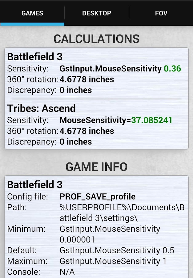 Mouse Sensitivity 0 8 1 APK Download - Android Tools Apps