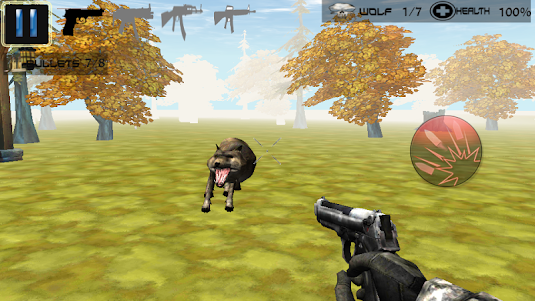 Hunter Kill Wolf Hunting Game 1.1 screenshot 2