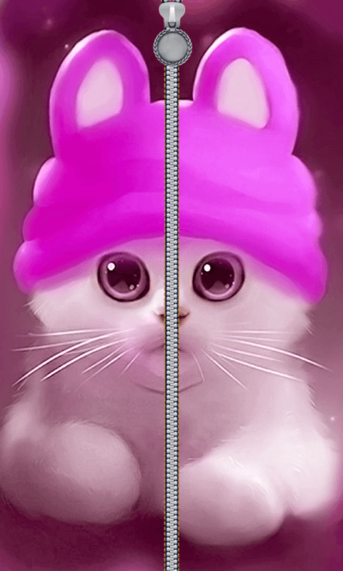 Zipper Lock Screen Hello Kitty 1 0 Apk Download Android